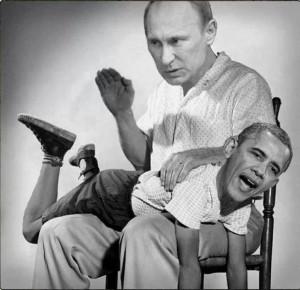 PutinSpankingObama