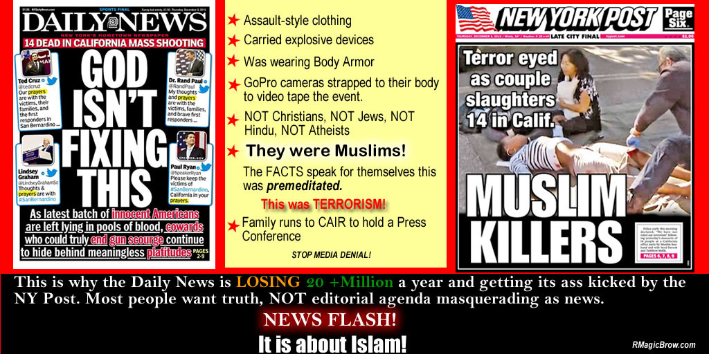 Facts of San Bernardino mass shooting.